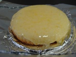観音屋チーズケーキ(オーブン後)