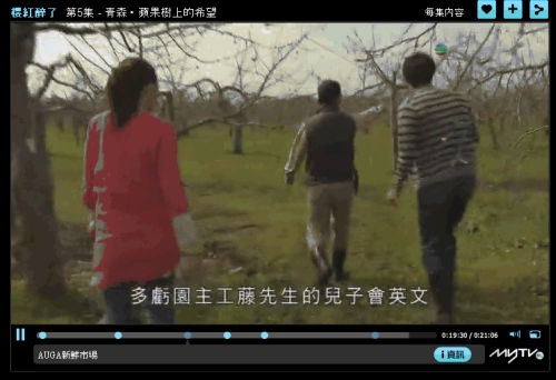 香港テレビ取材の様子