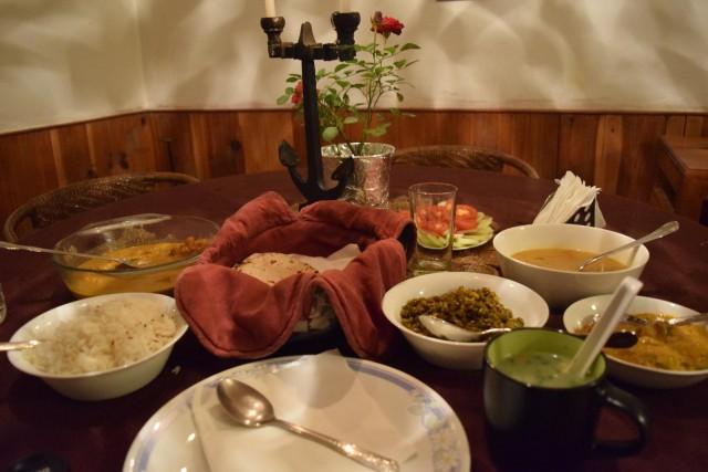Narkanda dinner