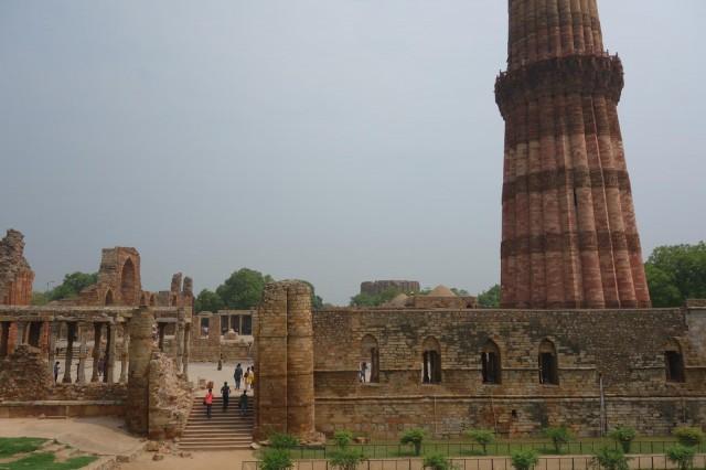 Qtubu Minar overview