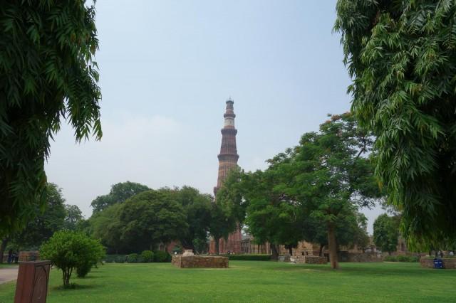 私的デリーイチ押しの観光スポット Qutub Minar(クトゥブミナール)