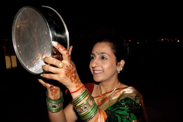 Karva Chauth [sited from : http://en.wikipedia.org/wiki/Karva_Chauth#mediaviewer/File:Karva_Chauth.jpg]