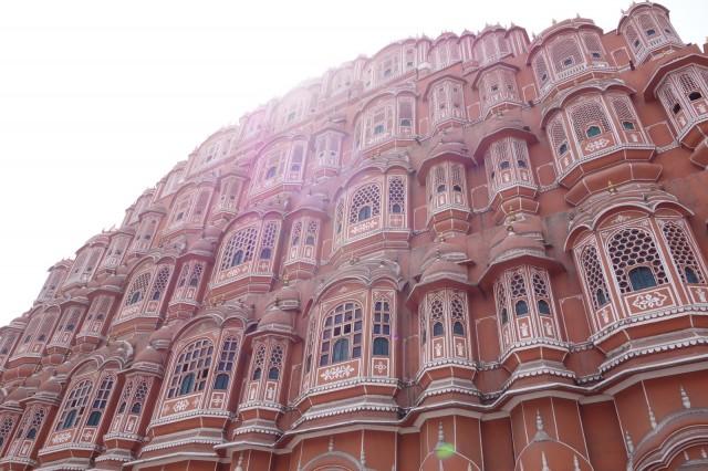 ジャイプール旅行 インド滞在史上もっとも奥さまウケの良かった街