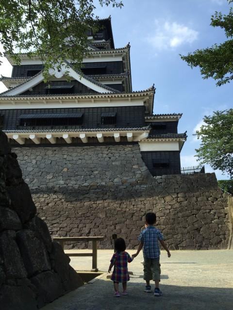 時間つぶしのつもりががっつり楽しんだ熊本城