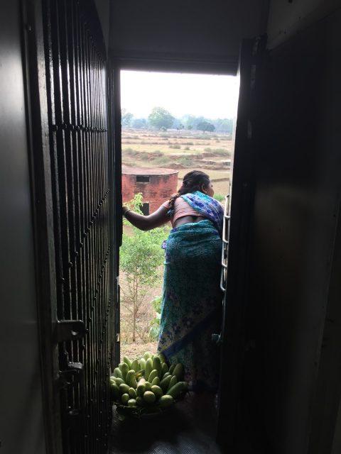 インド列車の車窓から(東インド)